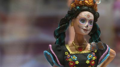 Dia de los Muertos-inspired Barbie doll unveiled in Mexico