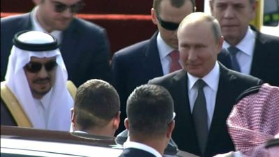 Russian President Putin arrives in Saudi Arabia