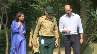 Prince William and Kate visit Margalla Hills in Islamabad