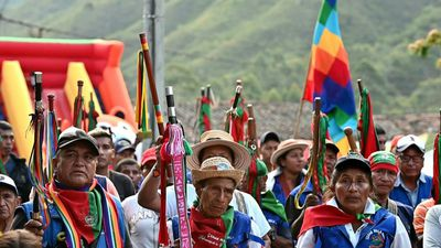 Colombian indigenous communities meet over rising murders