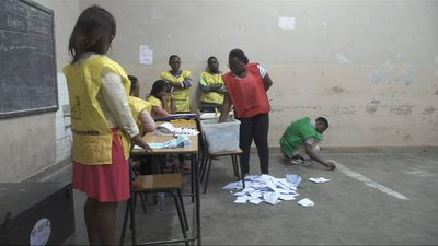 Vote counting process begins following Mozambique election