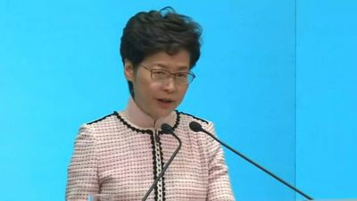 Hong Kong leader: Policy address cannot resolve unrest