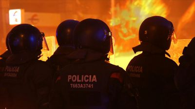 Barcelona divided on separatists' protests