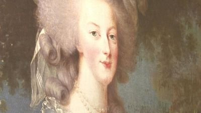 Marie-Antoinette, a popular icon explored through contemporary culture.