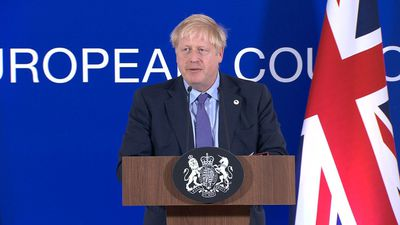 UK's Johnson says 'very confident' MPs will approve Brexit deal