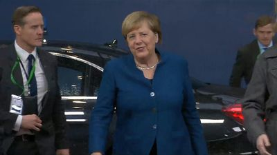 EU leaders arrive for day two of summit in Brussels