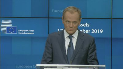 EU's Tusk says 'mistake' to block Albania, N.Macedonia EU membership talks