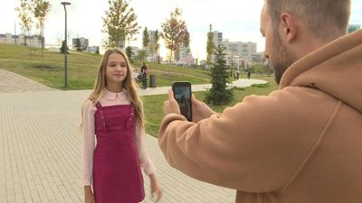 Video stars: Russian child bloggers score millions of 'likes'