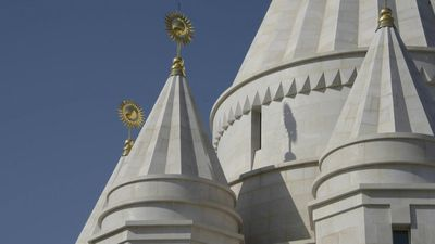 Long-persecuted Yazidis open world's largest temple