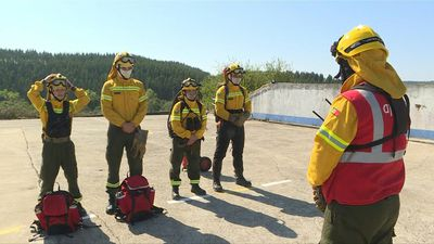 Portugal's private firefighters watch over volatile forests
