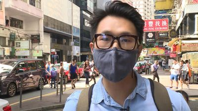 Hong Kongers react to reports city's leader may be replaced