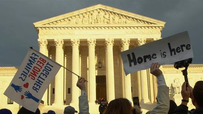 Undocumented migrants march to US Supreme Court
