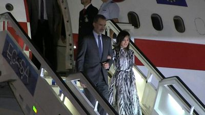 Spanish royals visit Havana for 500th anniversary celebrations