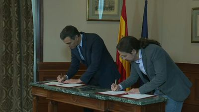 Spain Socialists, far-left Podemos agree in principle to form govt