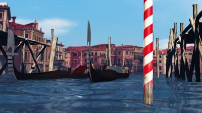 Venice's flood protection project