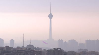 Air pollution shuts schools in Iran's capital