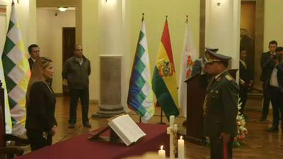 Bolivia acting leader names new military high command