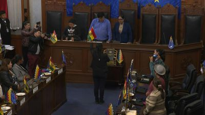 Bolivia: MAS party senator sworn in as Senate president