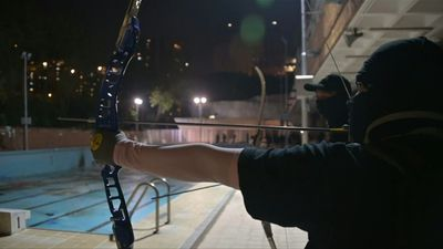 Breaking bad: HK students go from books to archery and Molotov cocktails