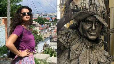 Havana's 500th anniversary: Actress Beatriz Estevez