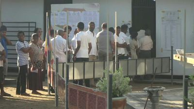 Voting begins in Sri Lanka presidential election