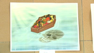 Migration takes centre stage at Abidjan's cartoon festival