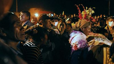 Bolivians attend funeral of Morales supporters killed in clashes with security forces