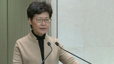 Hong Kong leader says 'very confident' to cope with unrest