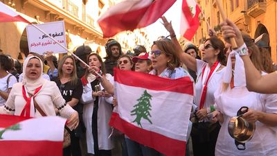 Besieged by protesters, Lebanon assembly postpones session