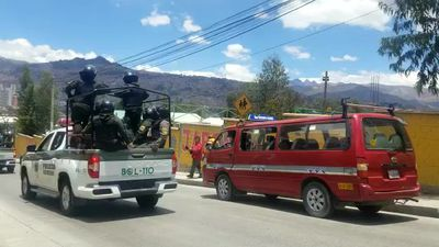 Bolivian fuel tanks drive to La Paz after liberation of Senkata plant