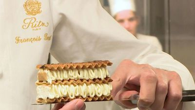 The head pastry chef at the Ritz Paris shares some tricks of the trade