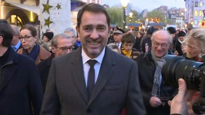 One year after attack, French Interior Minister attends Strasbourg Christmas Market opening