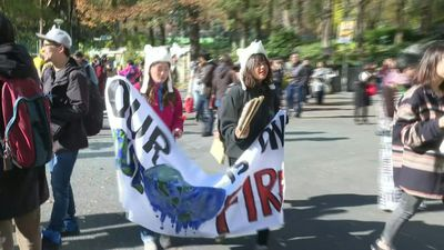 Friday for Future: Youths in Japan take part in climate change protest