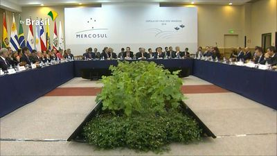Changing Mercosur bloc meets in Brazil after US tariffs blow