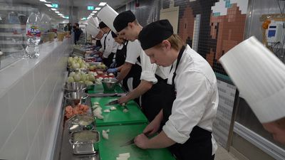 Chefs in Stockholm prepare huge banquet in honour of Nobel laureates