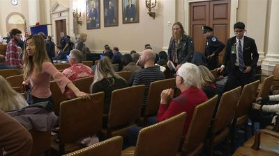 Tourists, DC residents alike in Congress to attend impeachment hearings
