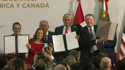 US, Mexico, Canada sign deal finalising USMCA trade pact