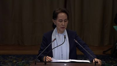Suu Kyi says 'genocidal intent cannot be the only hypothesis' in Rohingya case