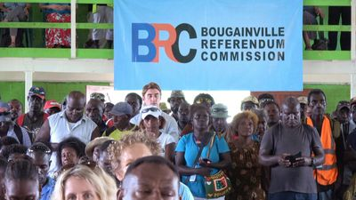 Bougainville voters back independence by landslide