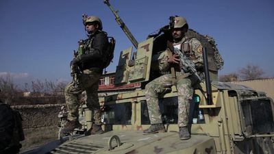 Blast near biggest US base in Afghanistan