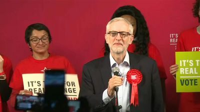 Labour Leader Jeremy Corbyn rounds up the final day of campaigning with London rally