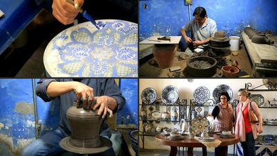 Talavera pottery, a Mexican and Spanish pottery tradition, listed by UNESCO