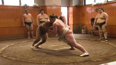 Beating, homesickness: tough path to the top for Georgian sumo star