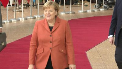 European leaders arrive in Brussels for summit
