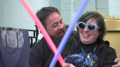 Star Wars fans camp outside LA cinema a week before film opens