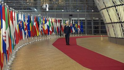 European leaders arrive in Brussels for second day of EU summit (2)