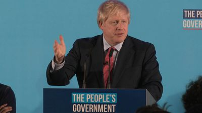 Boris Johnson 'humbled' after majority win