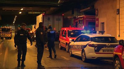 Emergency services at scene after police shoot man dead in Paris business district