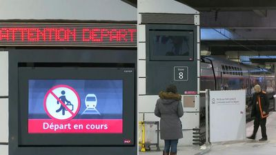 Transport strike paralyses Paris Montparnasse station