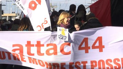 Pension reform protest brings 4,000 onto streets of Saint-Nazaire: CGT union